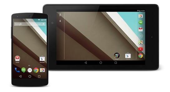 Apps de Android L