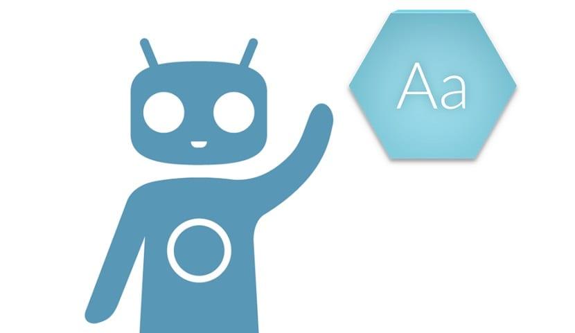 CyanogendMod lanza seis nuevas fuentes
