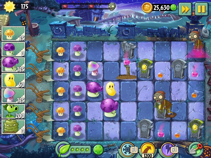 Dark Ages de Plants vs Zombies 2