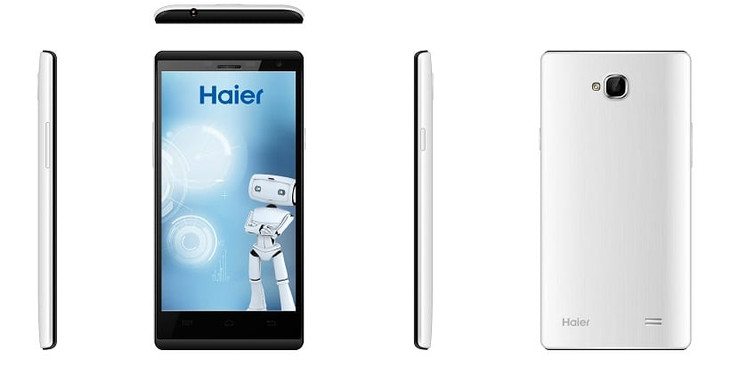 HaierPhone W858 blanco