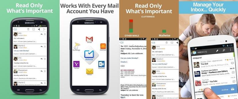 MailWise cliente de correo electrónico