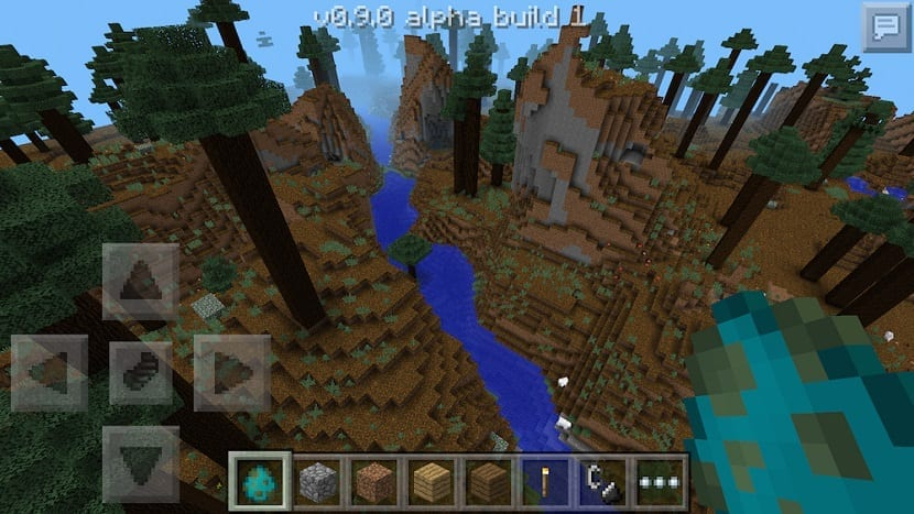 Minecraft Pocket Edition con mundos infinitos