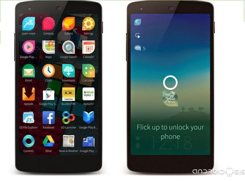 [APK] Jolla Launcher, otro concepto de Home disponible para probar en tu Android