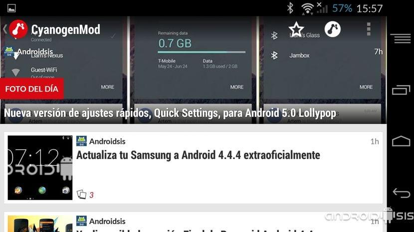 Aplicaciones increíbles para Android: Hoy News Republic