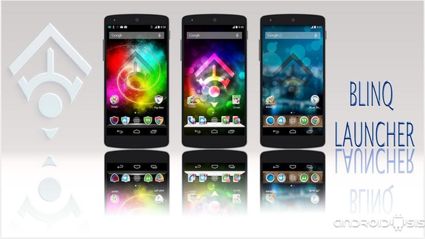 Blinq Launcher disponible en el Play Store de manera gratuita