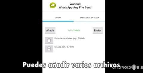 Cómo enviar cualquier tipo de archivo por WhatsApp