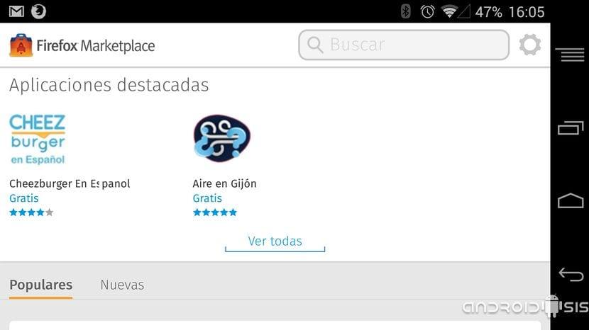 Cómo instalar aplicaciones web de Firefox en nuestro Android