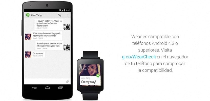 compatibilidad de relojes inteligentes de Google