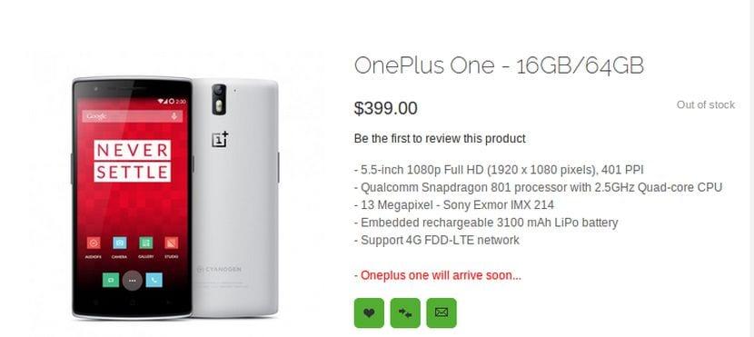 Comprar un OnePlus One ya es posible sin invitación