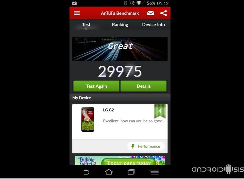 Mejorar el rendimiento del LG G2 actualizándolo a Android 4.4.4