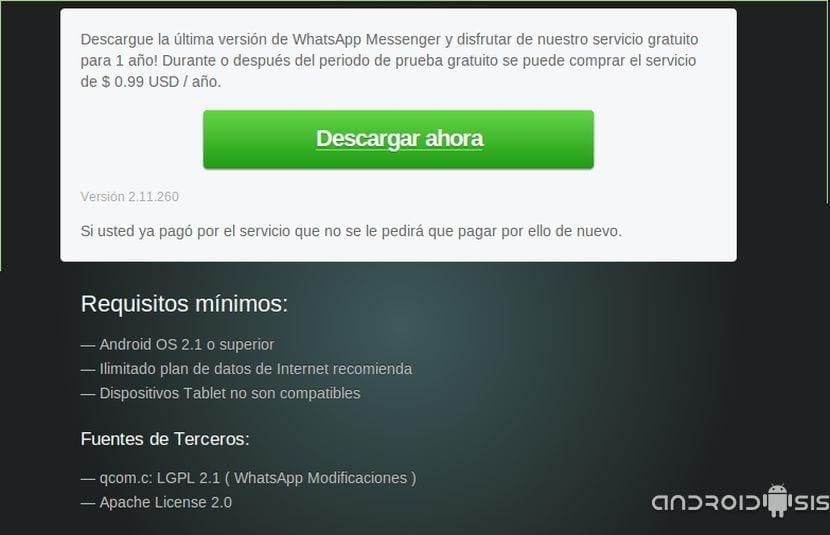 ¡Ojito!, no instales la última beta de Whatsapp si tienes un terminal con Rom Cocinada