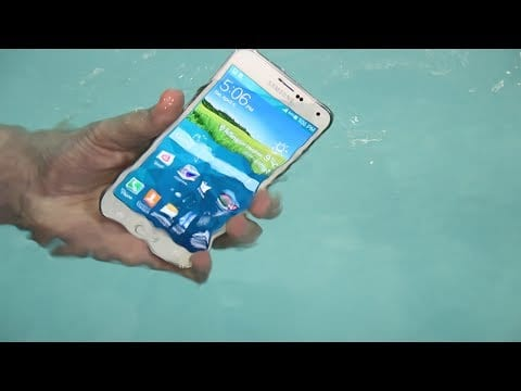 Samsung Galaxy S5: Otro test de resistencia al agua