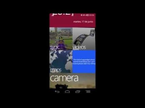 Windows Phone 8 en tu Android
