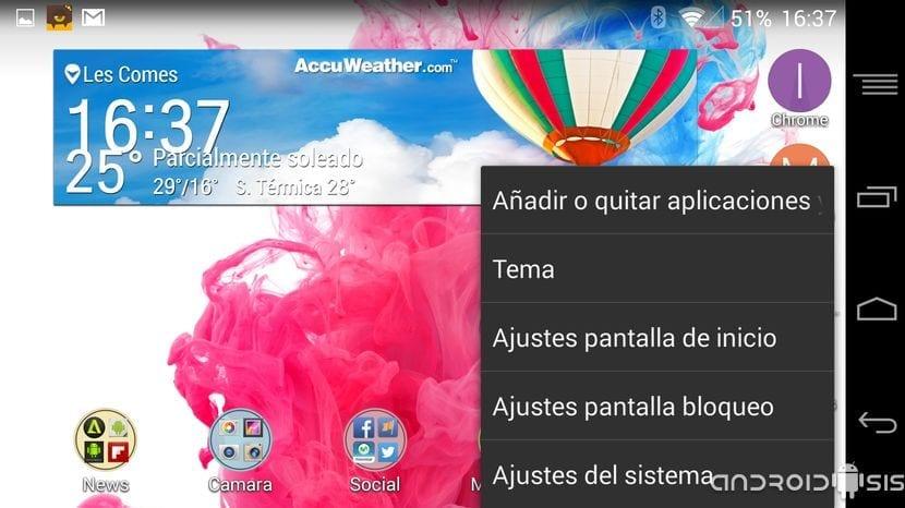 [ZIP] Instala el Launcher del LG G3 en cualquier Android KitKat con Recovery
