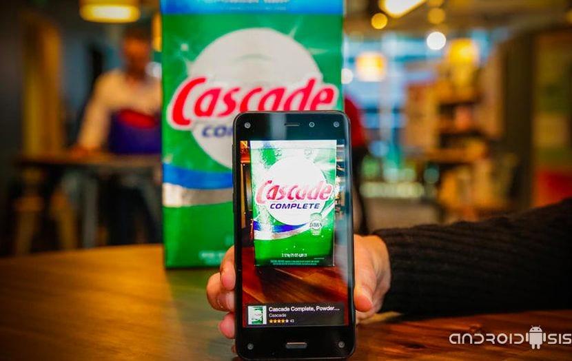 2 funciones espectaculares del FirePhone de Amazon, la perspectiva dinámica y FireFly