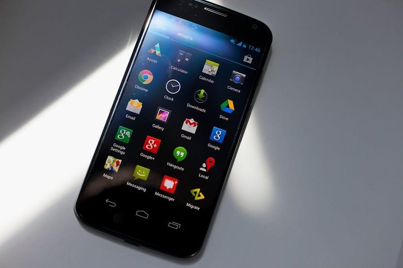Android L en el Moto X