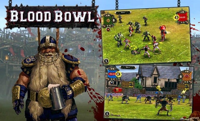 Estrategia por turnos para Blood Bowl