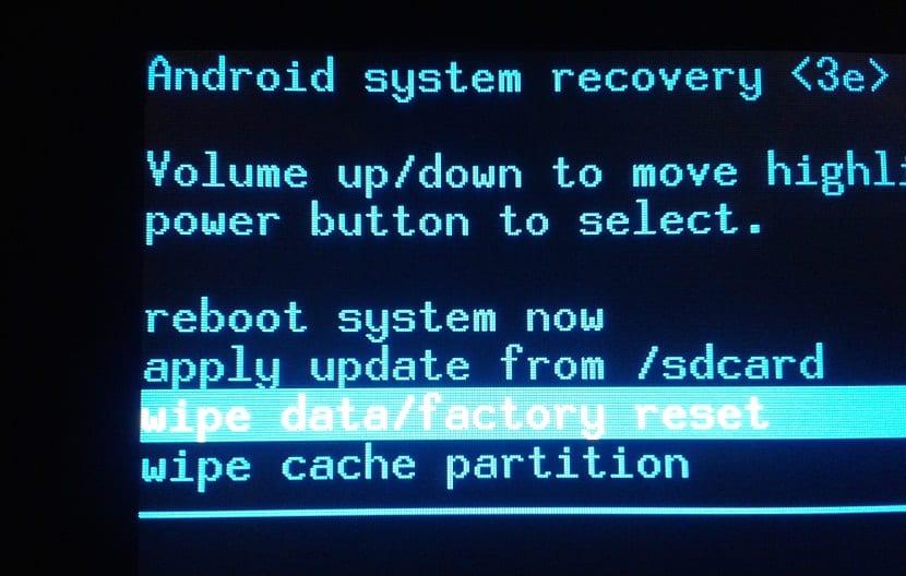 Borrar el contenido de un teléfono Android