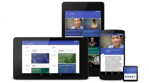 App ejemplo para Android L