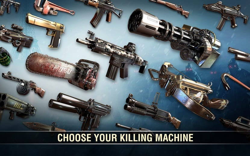Dead Trigger 2 armas