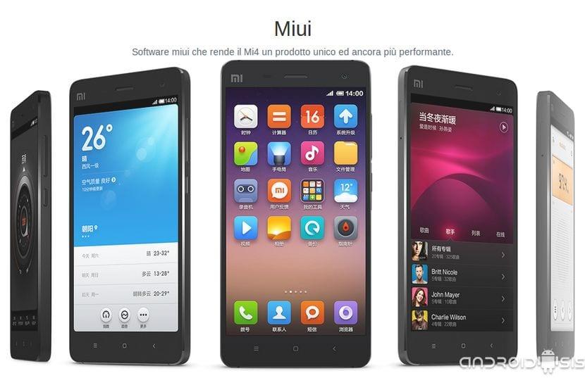 El Xiaomi Mi4 ya se puede reservar en italia
