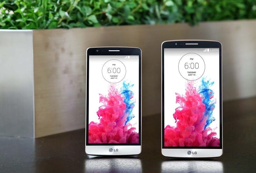 LG G3 Beat comparación