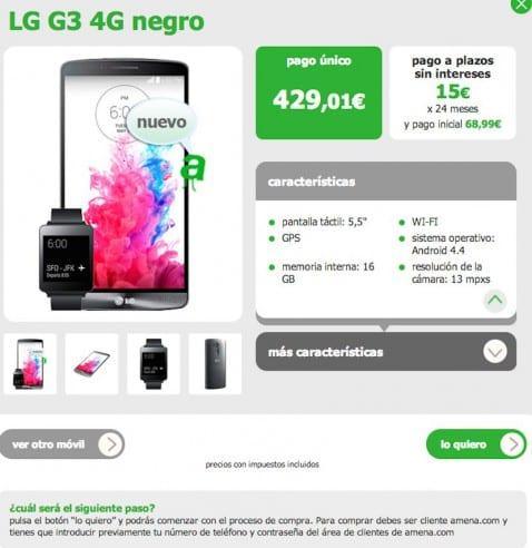 Ofertas LG G3