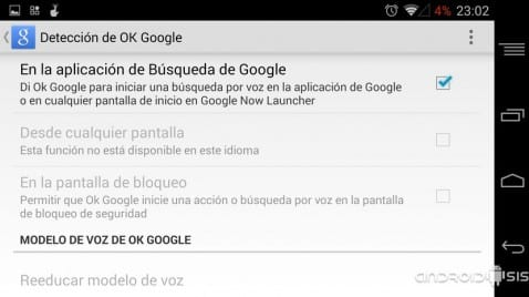 #TrucoAndroid para activar la función de OK Google desde cualquier lugar