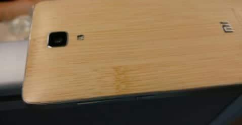 Xiaomi Mi4 de bambú