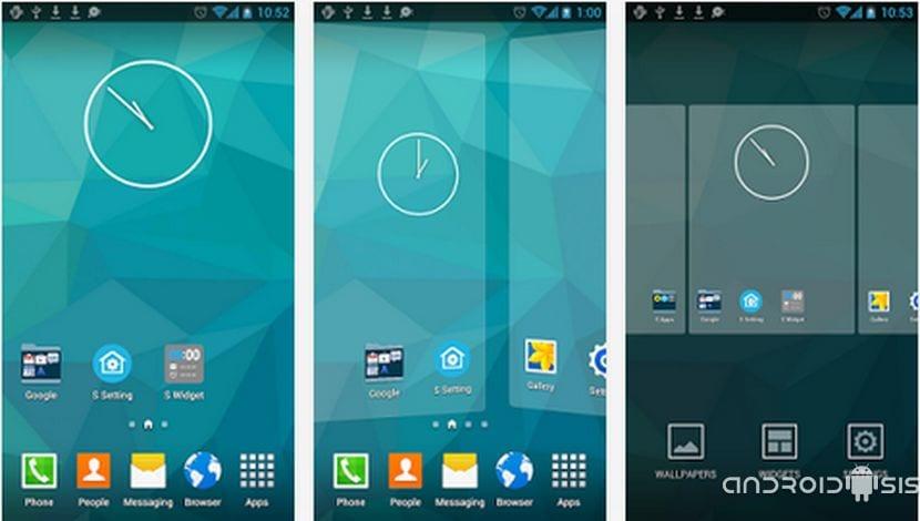 [APK] Descarga el Launcher del Samsung Galaxy S5 para Android 4.0 o superior