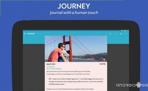 Aplicaciones imprescindibles para estas vacaciones: Hoy Journey