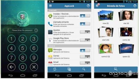 Aplicaciones increíbles para Android: Hoy AppLock