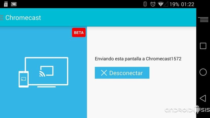 Cómo activar el mirroring en el Chromecast en dispositivos no compatibles