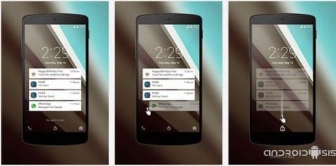Cómo instalar la pantalla de bloqueo de Android L en cualquier Android