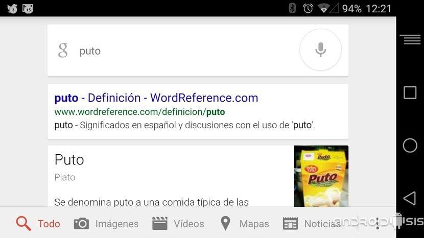 Configuraciones de Google Now: #OKGoogle no me detecta algunas palabras ¿que hago?