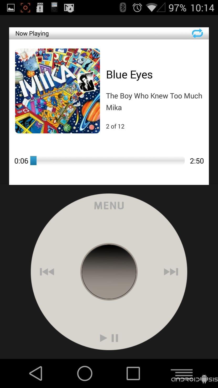 Convierte tu Android en un iPod Classic de Apple con esta aplicación gratuita