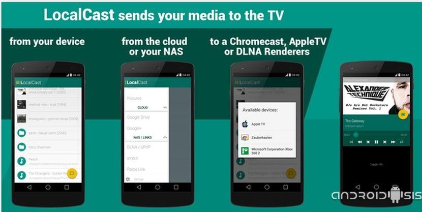Las mejores aplicaciones para Chromecast: Hoy LocalCast