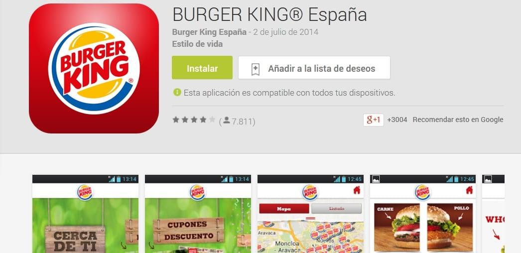 promociones burguer king