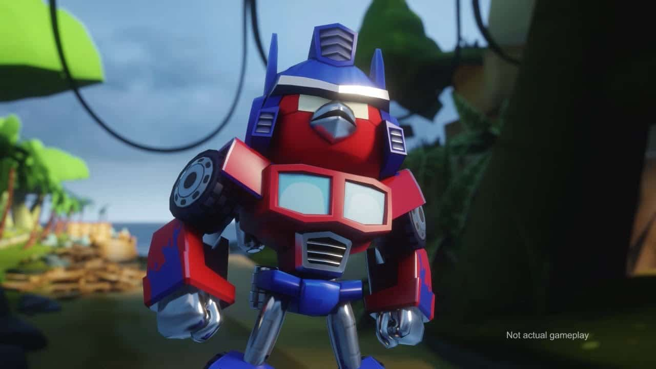 Video thumbnail for youtube video Teaser de lo nuevo de Rovio: Angry Birds Transformers