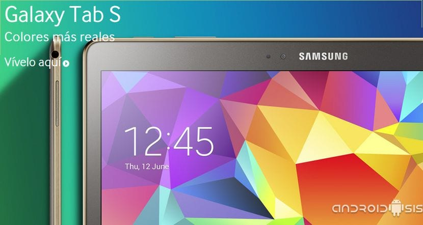 Ya podemos comprar la Samsung Galaxy Tab S en El Corte Ingles