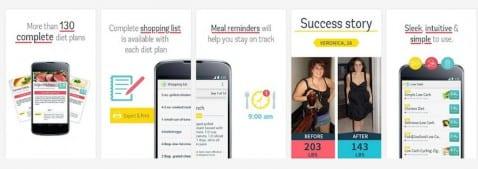 Diet Plan App portada