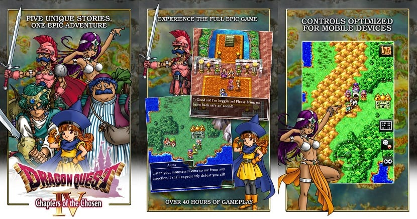Dragon Quest IV en la Play Store
