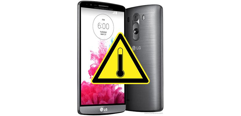 LG G3 caliente