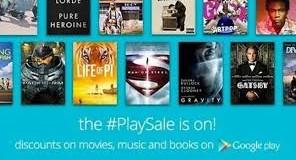 Películas, música y libros rebajados en la Google Play Store