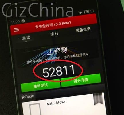 Meizu MX4 AnTuTu