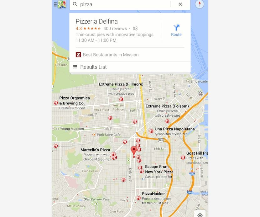 Navegación Android