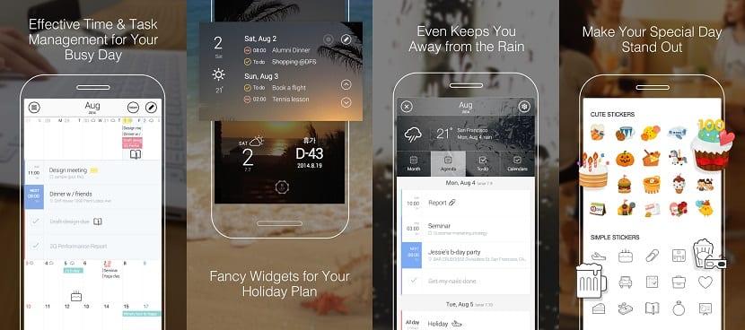 Calendario SolCalendar en Android