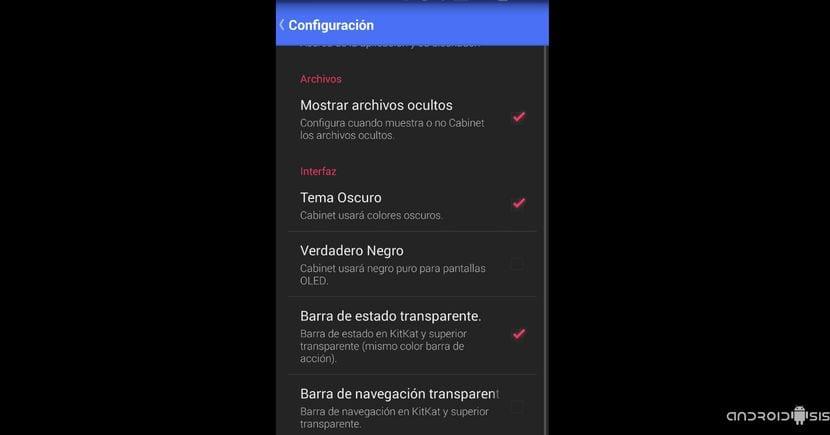 Cabinet Beta un explorador de archivos a lo Material Design