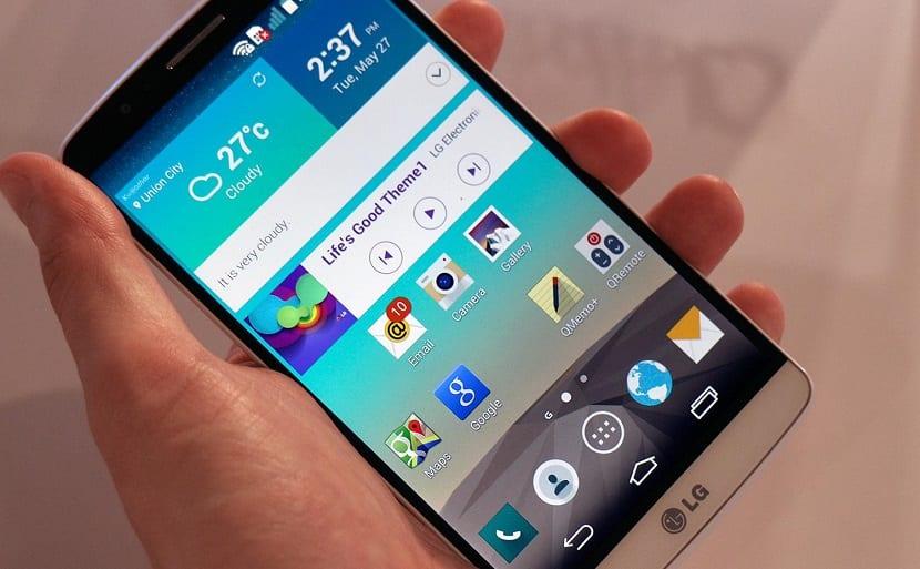 LG G3 de cerca