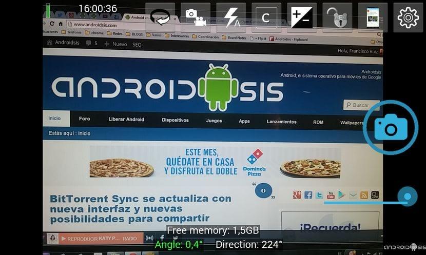 Open Cámara, una sensacional cámara Android de código abierto